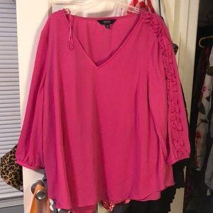 Tops - Pink XL dress shirt